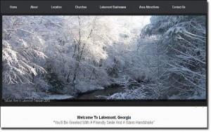 lakemont ga website image